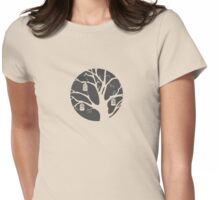 Birdcage (dark) Womens Fitted T-Shirt