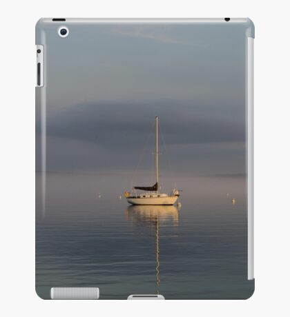 Sail Boats at Rest iPad Case/Skin