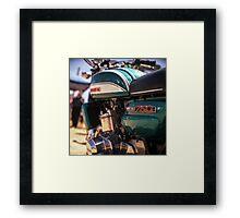 Suzuki GT750 Framed Print