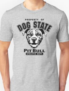 Dog State Pit Bull T-Shirt