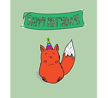 Foxy Birthday by LahDiDah