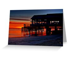 """Daybreak at Barwon Heads"" Greeting Card"