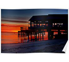 """Daybreak at Barwon Heads"" Poster"