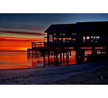 """Daybreak at Barwon Heads"" Photographic Print"
