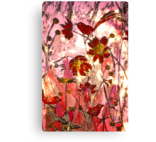 To My Jade with Love - Chine Colle Print Canvas Print
