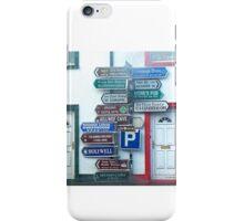 Irish Street Signs iPhone Case/Skin