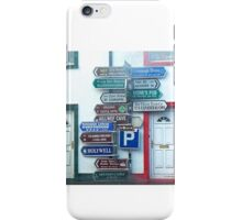 Irish Street Signs iPhone Case/Skin