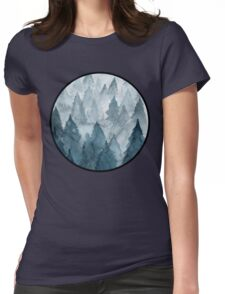 Clear Winter Womens Fitted T-Shirt