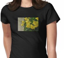 Peeking Womens Fitted T-Shirt