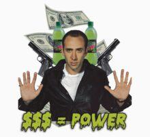 """Nicolas Cage - """"Money Equals Power"""" by ticklish-wizard"""