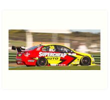 Ingall and Morris - Phillip Island 2008 Art Print
