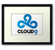 CLOUD 9 GAMING Framed Print
