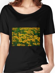 Black Eyed Daisies Women's Relaxed Fit T-Shirt