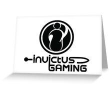INVICTUS GAMING Greeting Card