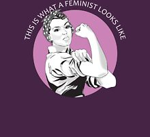 This Is What A Feminist Looks Like Geraldine Doyle T Shirt Womens Fitted T-Shirt
