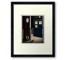 Do You Want To Meet a Time Lord? Framed Print