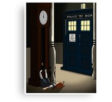 Do You Want To Meet a Time Lord? Canvas Print