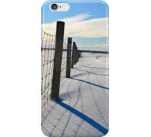 Shadows on the Snow iPhone Case/Skin