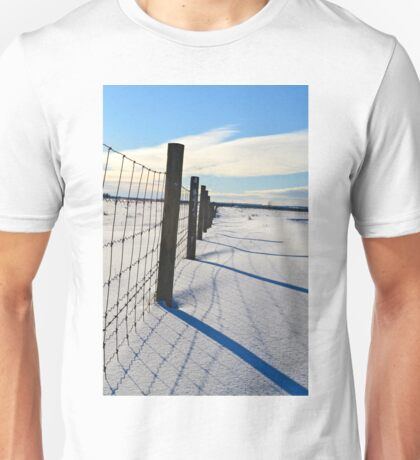 Shadows on the Snow Unisex T-Shirt