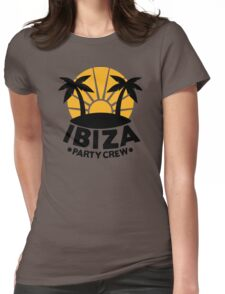 Ibiza party crew Womens Fitted T-Shirt