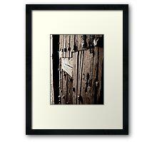 """The Key Hole"" Framed Print"