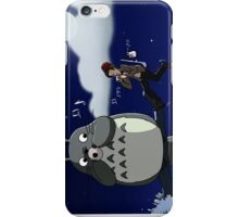 Totoro and the Doctor's Midnight Musicale iPhone Case/Skin