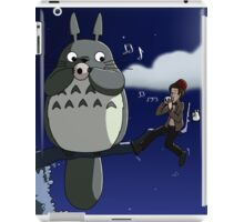 Totoro and the Doctor's Midnight Musicale iPad Case/Skin