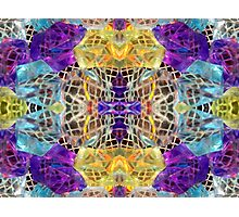 Rich Colorful Glass Gems Photographic Print