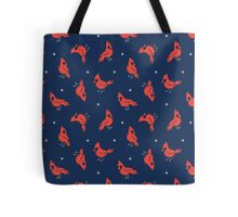 Cold Weather Birds Tote Bag