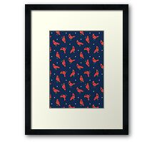 Cold Weather Birds Framed Print