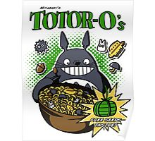 Totoro's Cereal Poster