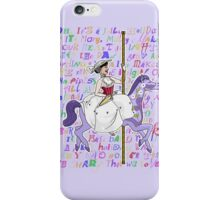It's Mary That We Love iPhone Case/Skin