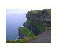 Cliffs on Moher in Ireland Art Print
