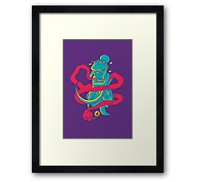Ghostly Whisper Framed Print