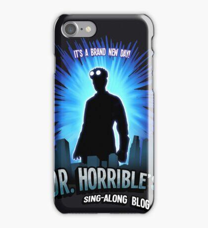 Dr. Horribles sing-along blog  iPhone Case/Skin
