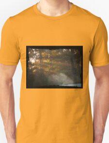 Sunrise through the trees T-Shirt