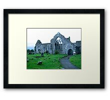 Dominican Priory in Athenry, Ireland Framed Print