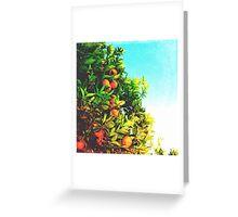 Ohh La La Oranges Greeting Card