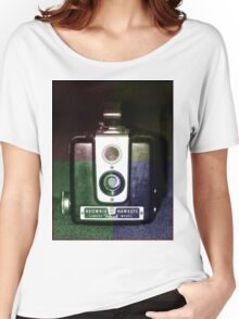 Colorful Brownie Hawkeye Women's Relaxed Fit T-Shirt