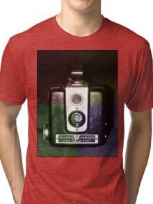Colorful Brownie Hawkeye Tri-blend T-Shirt