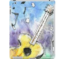 Guitar Notes iPad Case/Skin