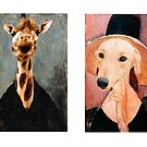 A la Modigliani! by Christina Brundage