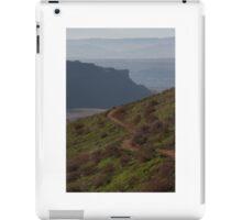 Take the road less traveled iPad Case/Skin