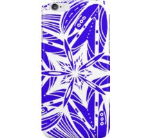 Star Tangles 5 White - an Aussie Tangle by Heather - See Description Note for Colour Options iPhone Case/Skin