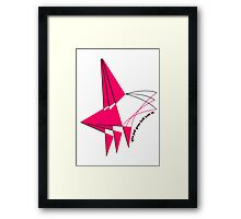 you put your left arm in Framed Print