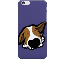 Big Nose Bull Terrier Puppy iPhone Case/Skin