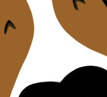 Big Nose Bull Terrier Puppy Sticker