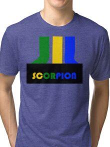 SCORPION (atari style)  Tri-blend T-Shirt