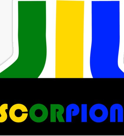 SCORPION (atari style)  Sticker