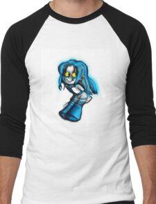 ARCADE - Marina Pixels Men's Baseball ¾ T-Shirt